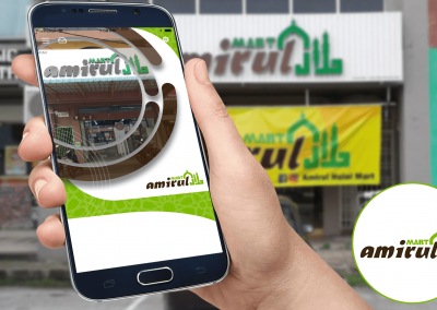 RAXBIT Portfolio - App Amirul Halal Mart