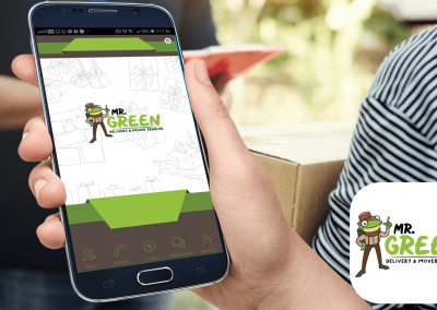 RAXBIT Portfolio - App Mr Green Delivery
